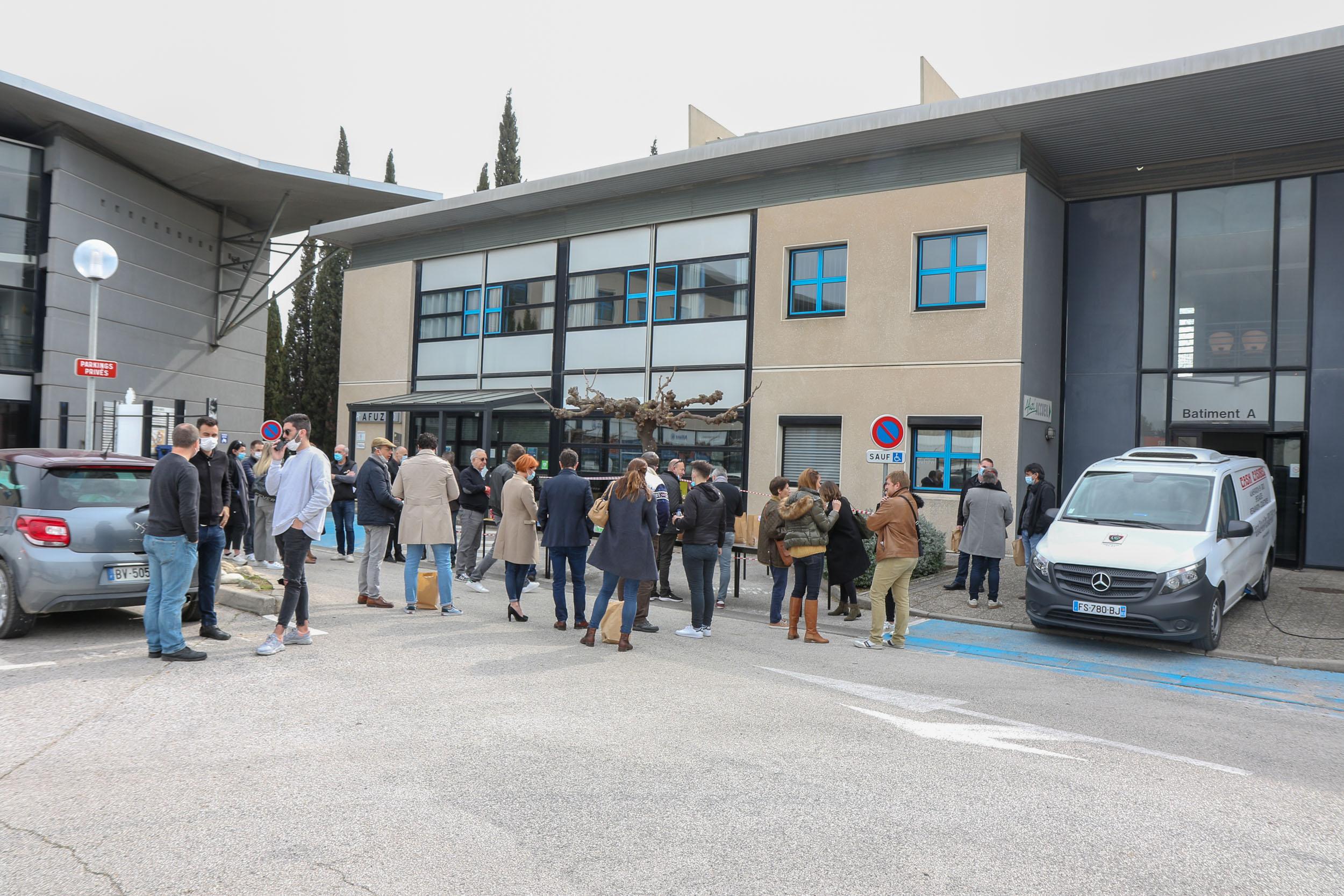 1er-Repas-Citoyen-AFUZI-Cash-Casibel - Entrepreneurs et Citoyens - Toulon - Var