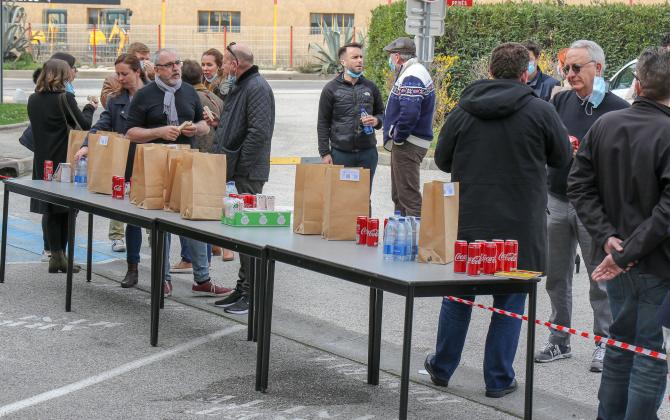 Premier-repas-citoyen-organis-par-le-fonds-de-dotation Entrepreneurs et Citoyens Toulon Var
