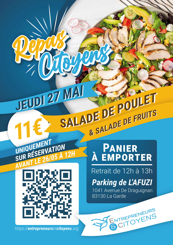 Repas Citoyen Var AFUZI Entrepreneurs et Citoyen 27 mai 2021